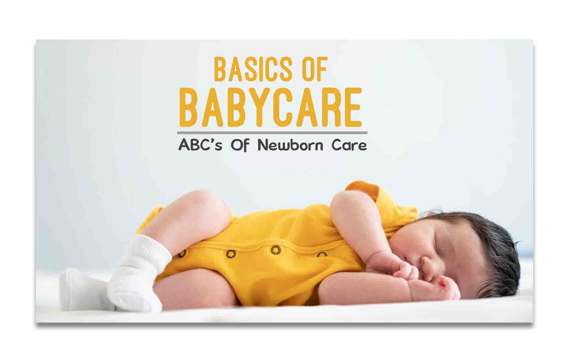 drkmh BASICS OF BABY CARE