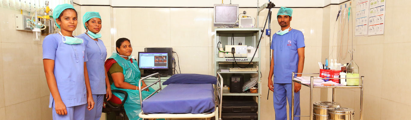 Endoscopy suite