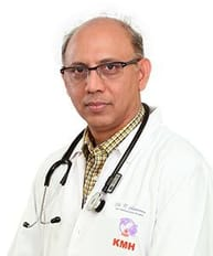 Dr. C. Saravanan is the cardiothoracic surgeon