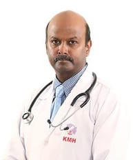 Dr. R. Prem Sekar is a pediatric cardiologist