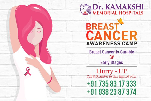 drkmh Breast cancer awareness camp 2019